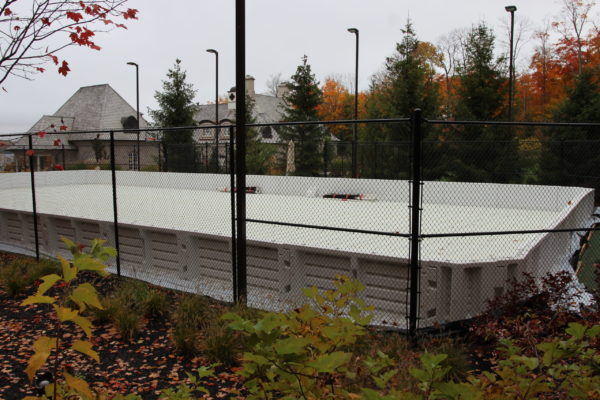 Tennis Court to Rinks Conversions