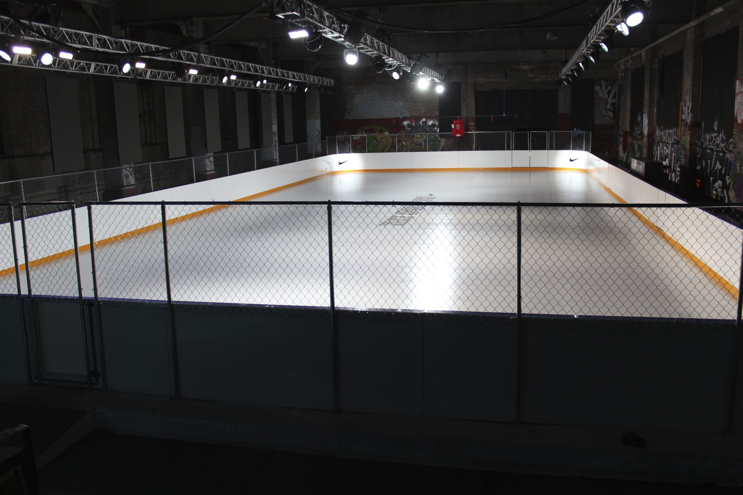 Nike Speedhouse indoor rink