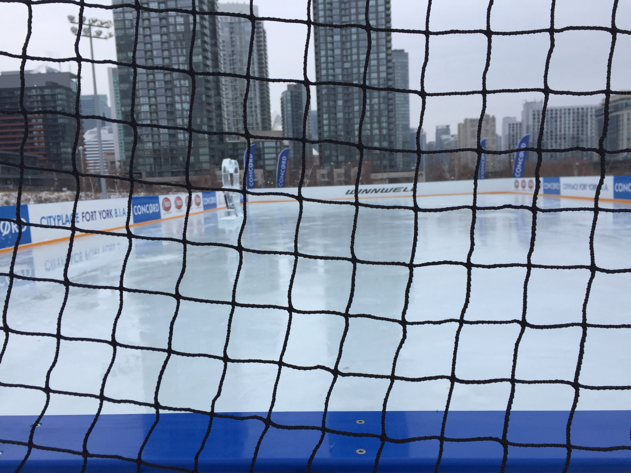 City Place Canoe Landing refrigerated rink 60'x120′